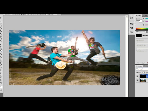 Tutorial Photoshop CS5 HD Efecto Zoom Para Tus Fotos