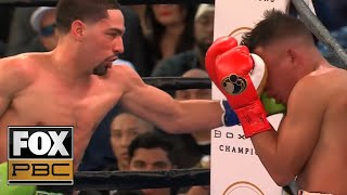 Danny Garcia breaks down his KO win over Adrian Granados | INTERVIEW | PBC ON FOX