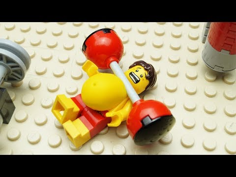 Lego Gym Fail - Beach Body Building 2