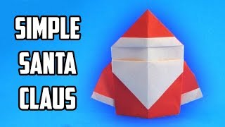 Origami Santa Claus. (full Hd)