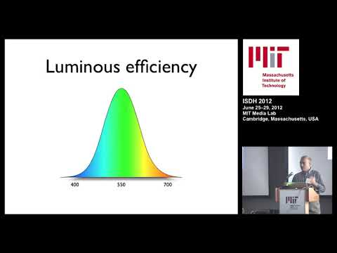 What are the ideal wavelengths for full-color holography?