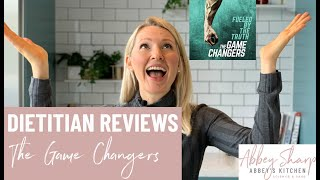 Dietitian Reviews Game Changers | Can Athletes Be Vegan?