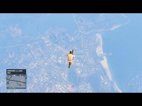 GTA 5 Madness Bike Launch Glitch & Killing People (GTA Online Funny Moments & GLitches)
