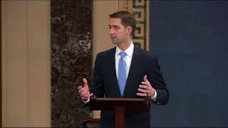 February 12, 2018: Sen. Tom Cotton Speaks on the Senate Floor about the Secure and Succeed Act