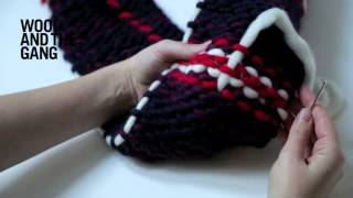 How To Make a Tartan Scarf  with these easy Knitting Techniques