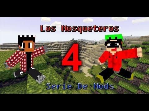 Los Mosqueteros #4: Odio a los Esqueletos (Minecraft Serie de Mods)