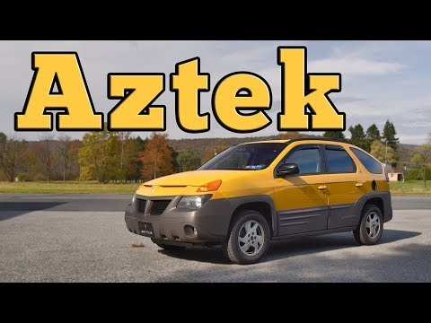 2001 Pontiac Aztek GT: Regular Car Reviews
