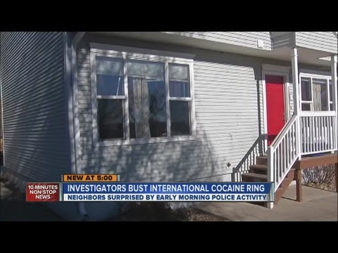 International cocaine ring busted