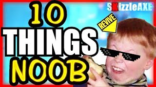 10 Things NOOBS Do in Zombies - Are you a NOOB? #3 (10 Mistakes Call of Duty Zombies PLAYERS Make)