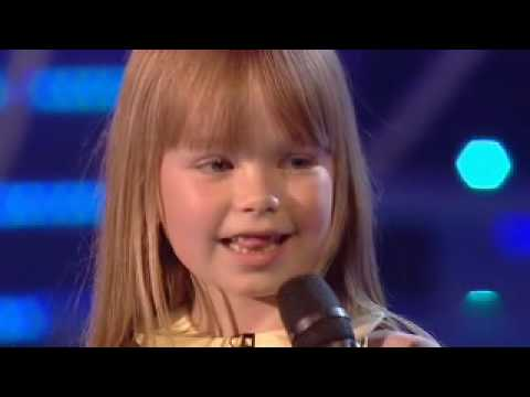 BGT FINAL - Connie Talbot high quality video/sound