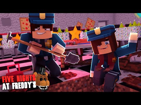 Minecraft: FIVE NIGHTS AT FREDDY'S #75 - FIZEMOS UMA ARMADILHA NA PIZZARIA!