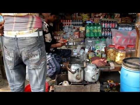 Roadside Tea Stand in Bangladesh