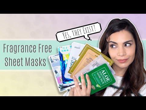 11 Fragrance and Alcohol Free Sheet Masks!