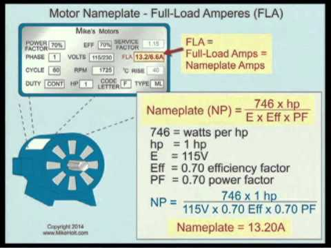 Essential Information You Can Find On Motor Nameplate EEP