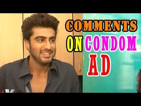Arjun Kapoor comments on Ranveer Singh's condom ad