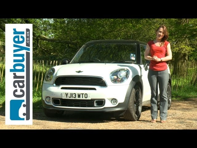 MINI Paceman SUV 2013 review - CarBuyer - YouTube