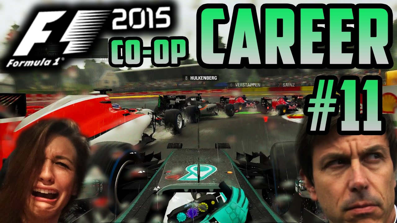 F1 2015 CO-OP CAREER PART 11: DO NOT WATCH THIS