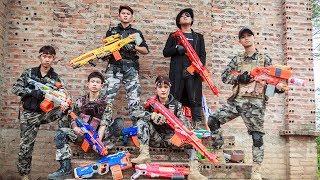 LTT Nerf War : Perfect Couple SEAL X Warriors Nerf Guns Fight Criminal Group Dr Lee