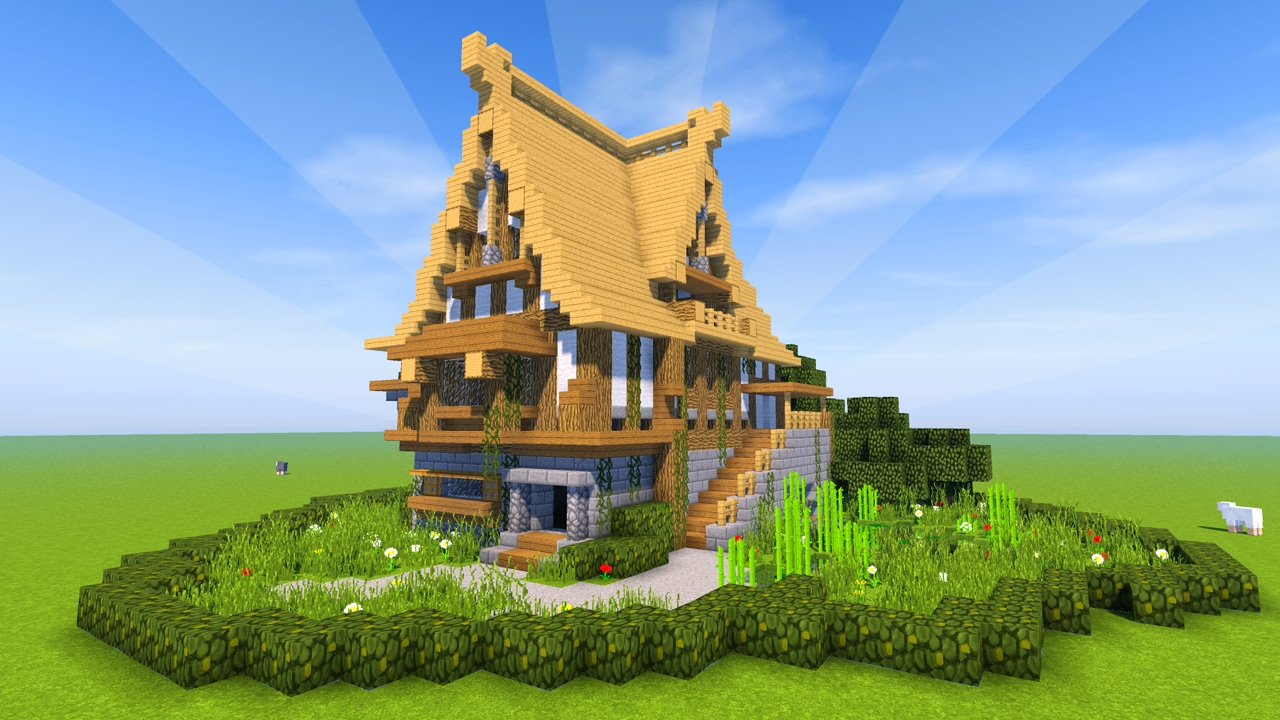 How to Make a Mansion on Minecraft