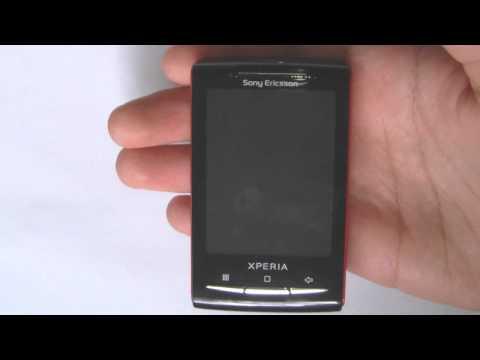 Sony Ericsson Xperia X10 mini - Soft-Reset