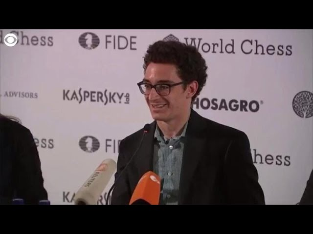 Fabiano Caruana became the first American to reach a World Chess Championship since Bobby Fischer