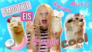 AFTER SCHOOL SNACK IDEE SMOOTHIE ICE 😍 Vegan | MaVie Back to school