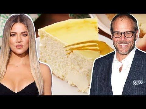 Khloé Kardashian Vs. Alton Brown: Whose Cheesecake Is The BEST?   Celebrity Snackdown   Delish  
