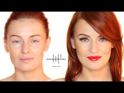 Jak Zrobić Makijaż W STYLU GWIAZD - Czerwone Usta