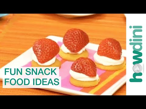 Easy Snack Recipes For Kids - Fun Snack Food Ideas