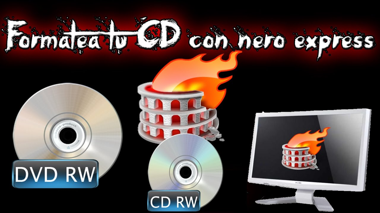 Grabar fotos para ver en dvd nero 17