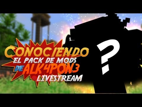 Minecraft para PC: Pack de Mods de ALK4PON3!!