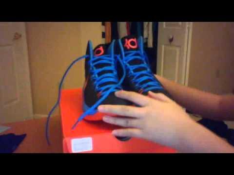 Kevin Durant KD V unboxing