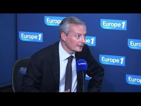 Bruno Le Maire : A la tête de lUMP on veut du sang neuf !