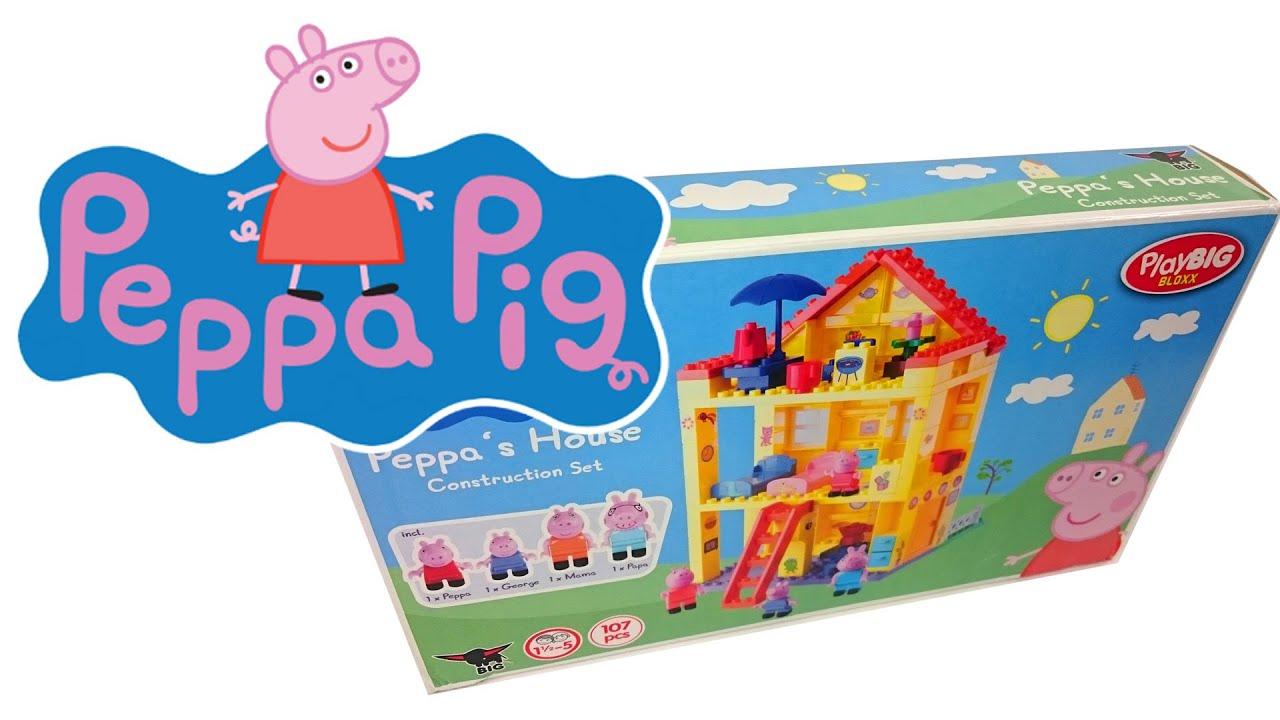 ГИГАНТСКАЯ игрушечная Свинка Пеппа и игрушки для