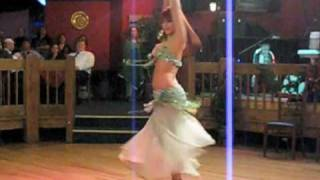 Alia Belly Dancing at NTMEDA show
