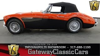 1963 Austin Healey 3000 Mark II - Gateway Classic Cars Indianapolis - #468 NDY