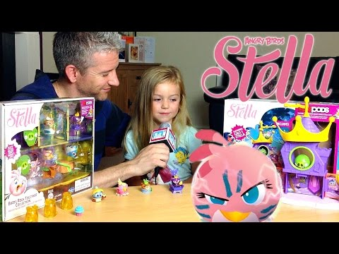 Angry Birds Stella: Piggy Palace Playset Telepods - Kid's Review