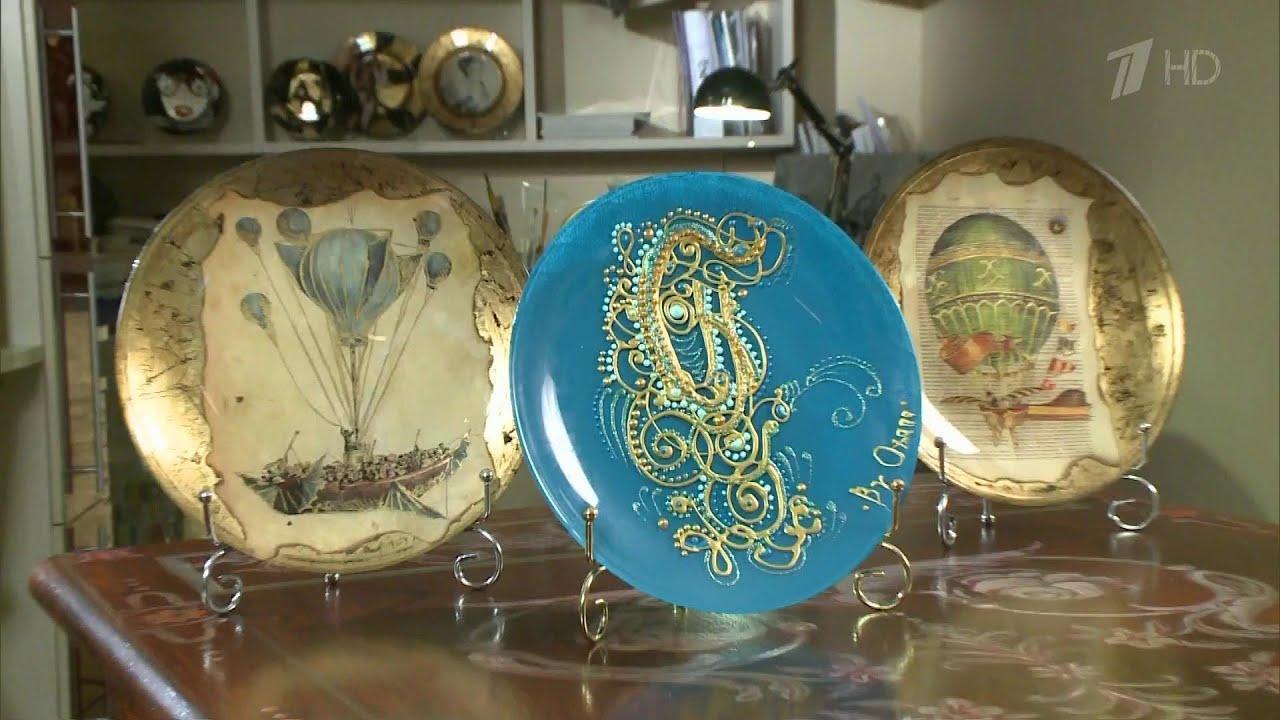 Декоративные тарелки на стену: способы декорирования, 75 фото, видео 77