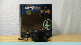 Spy Net Night Vision Infrared Stealth Binoculars Hands On Review - zooLert
