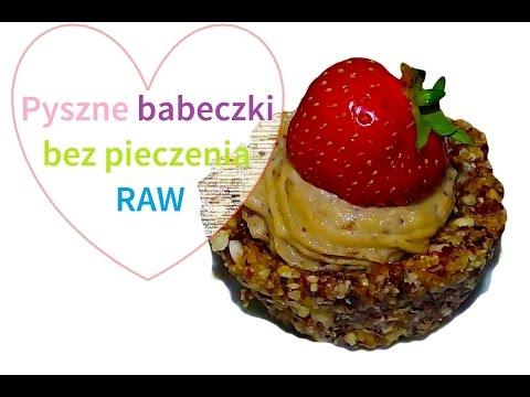 Przepis Na Surowe Babeczki Z Kremem Z Nerkowców Raw Food