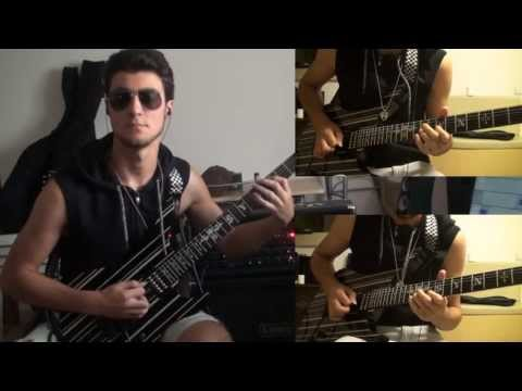 Avenged Sevenfold- hail To The King (guitar Cover With Solo And Harmonies) video