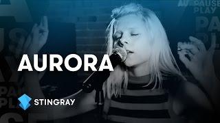 "AURORA - 「Stingray PausePlay」にて""Warrior""など2曲を披露 アコースティック・セッション映像を公開 thm Music info Clip"