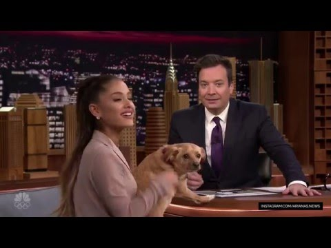 Ariana Grande Interview - The Tonight Show Starring Jimmy Fallon