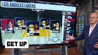 How the Lakers fill out the roster after trading Lonzo, Ingram and Hart to the Pelicans | Get Up