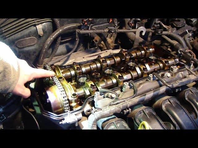 How to check timing chain status VVT-i engine Toyota ...