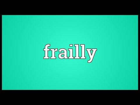 Header of frailly