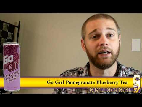Go Girl Pomegranate Blueberry Tea Energy Drink Review