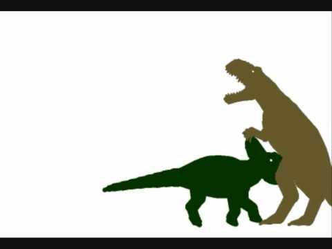 pachyrhinosaurus vs gorgosaurus  0994415283203E-6