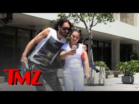 TMZ London Presents: Russell Brand and Royal Baby Talk