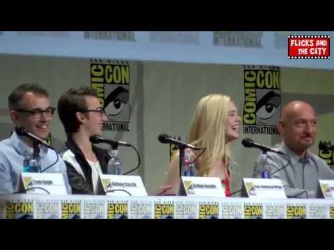 The Boxtrolls Comic Con Panel - Isaac Hempstead-Wright, Elle Fanning & Ben Kingsley